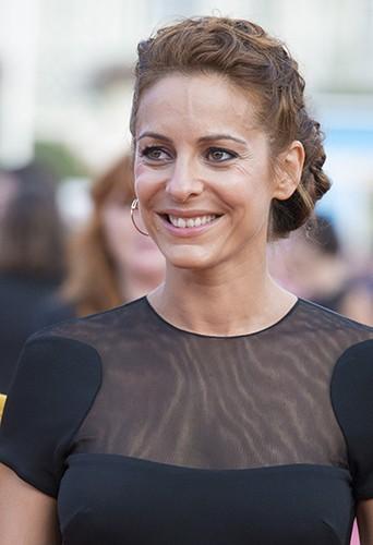 Audrey Dana à Deauville le 13 septembre 2014
