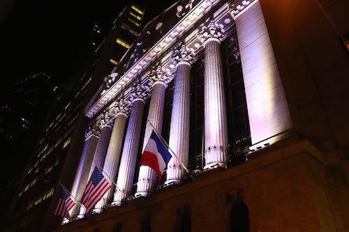 Hommage à la bourse de New York