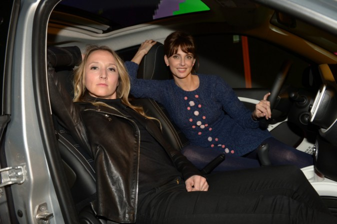 Audrey Lamy et Frédérique Bel à la soirée Smart