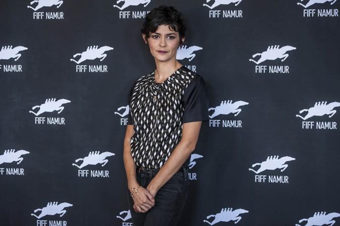 Audrey Tautou : discrète et mutine pour clôturer le FIFF avec charme !