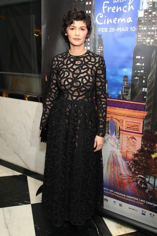 Audrey Tautou au festival Rendez-vous With French Cinema de New-York le 28 février 2013