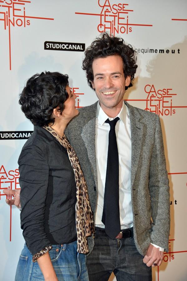 Audrey Tautou et Romain Duris à l'avant-première de Casse-tête chinois à Paris le 10 novembre 2013