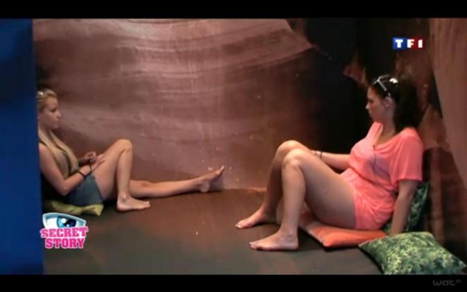Aurélie pendant Secret Story