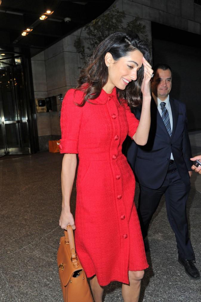 Amal Clooney le 30 septembre 2015