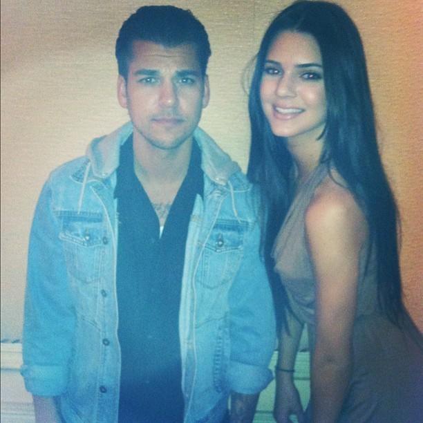 Rob avec Kendall ...