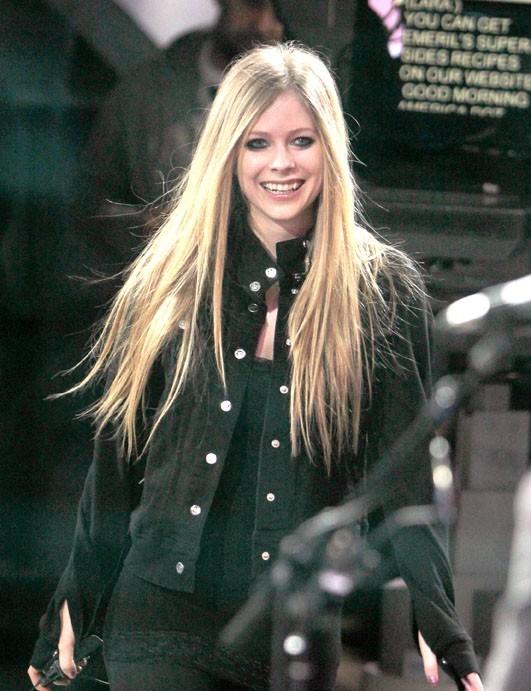 Avril Lavigne au Good Morning America
