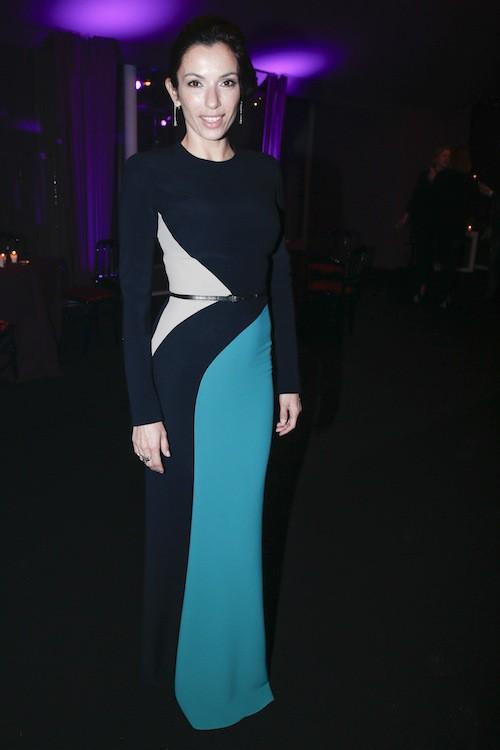 Aure Atika au dîner de la mode, le 29 janvier 2015