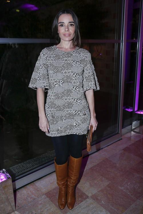 Elodie Bouchez au dîner de la mode, le 29 janvier 2015