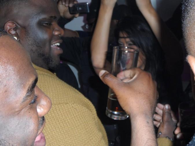 Ayem en soirée à Bezons, le 26 octobre 2012.