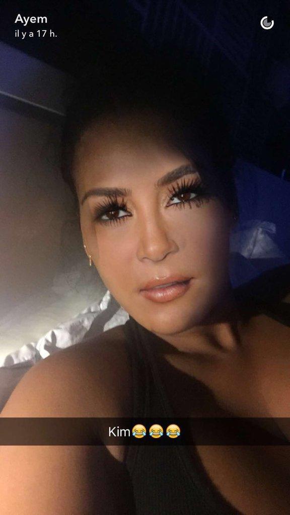 Ayem se transforme en Kim Kardashian