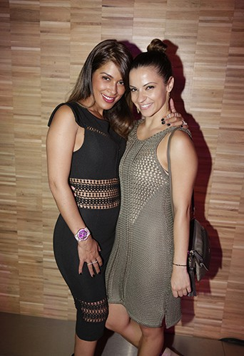 Ayem Nour et Denitsa Ikonomova le 4 juin 2015