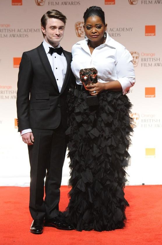 Octavia Spencer pour La couleur des sentiments avec Daniel Radcliffe !