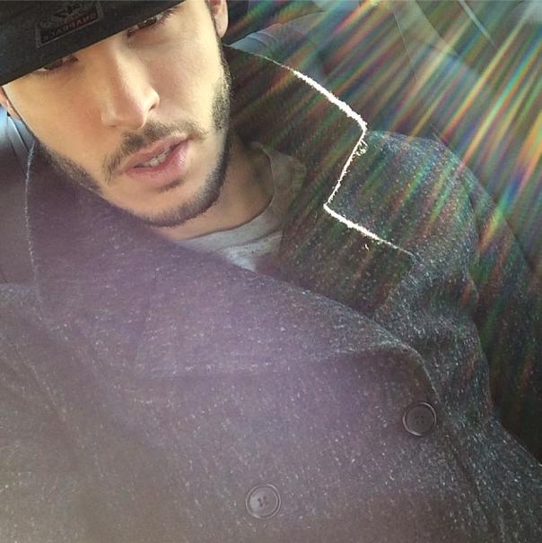 Photos : Baptiste Giabiconi : le roi du selfie, c'est lui !
