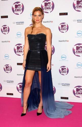 Sur le pink carpet des MTV Europe Music Awards