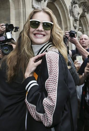 Natalia Vodianova à Paris le 29 septembre 2014