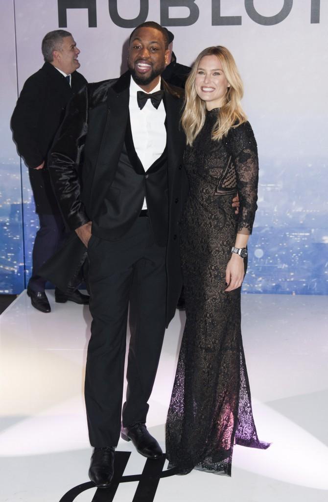 Photos : Bar Refaeli et Dwayne Wade : duo glamour et complice pour Hublot !