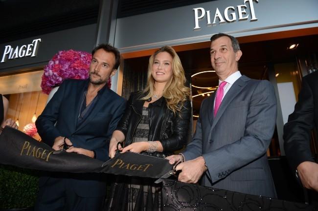 Bar Refaeli lors de l'inauguration d'une nouvelle boutique Piaget à Genève, le 22 mai 2012.
