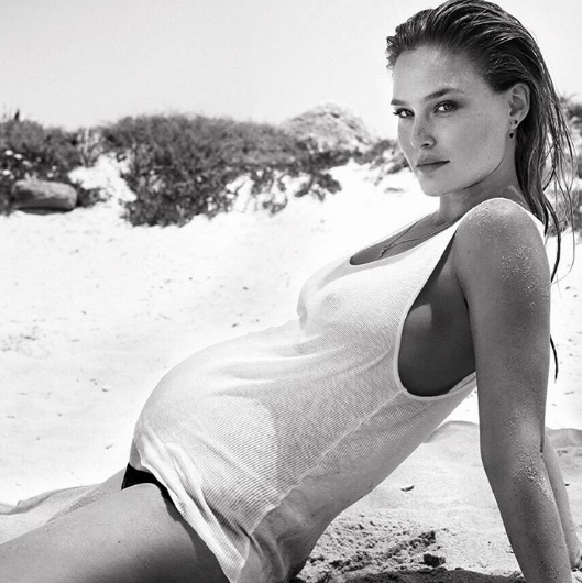 Photos : Bar Refaeli : Rayonnante, elle affiche son ventre rond sur Instagram !