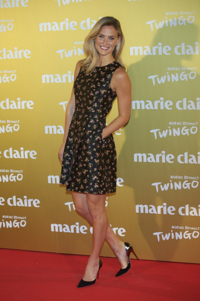 Bar Refaeli à Madrid le 19 novembre 2014