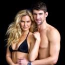 Dans les bras de Michael Phelps !