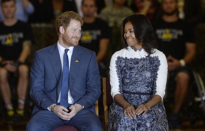Photos Barack Et Michelle Obama Sous Le Charme Du Prince