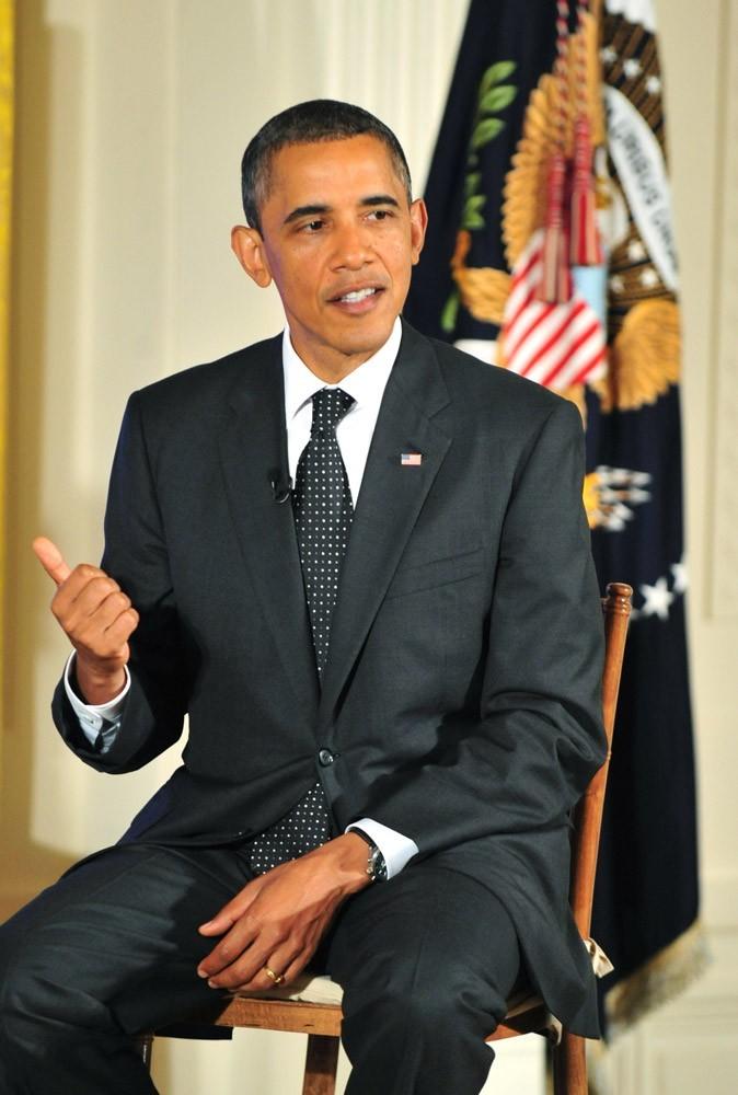 Barack Obama a besoin de s'asseoir, c'est que c'est pas de tout repos son job !