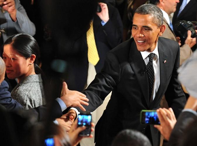Barack Obama est proche des gens