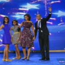 Le clan Obama en 2012