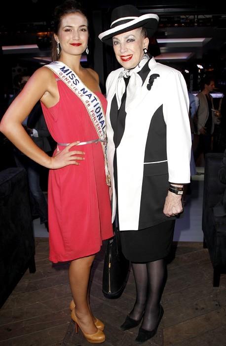 Avec Geneviève de Fontenay, chef de file des Miss Nationales