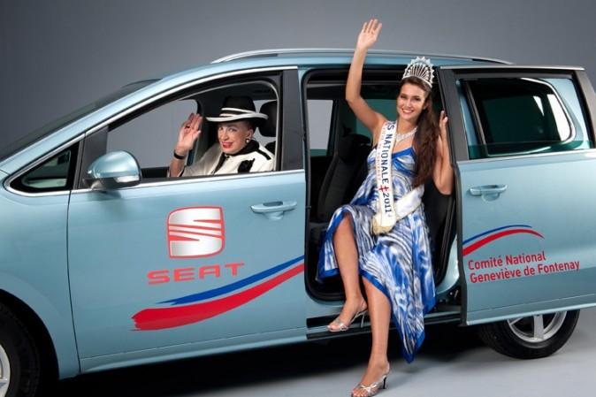 Barbara Morel et Geneviève révisent le levée de main de miss Nationale !