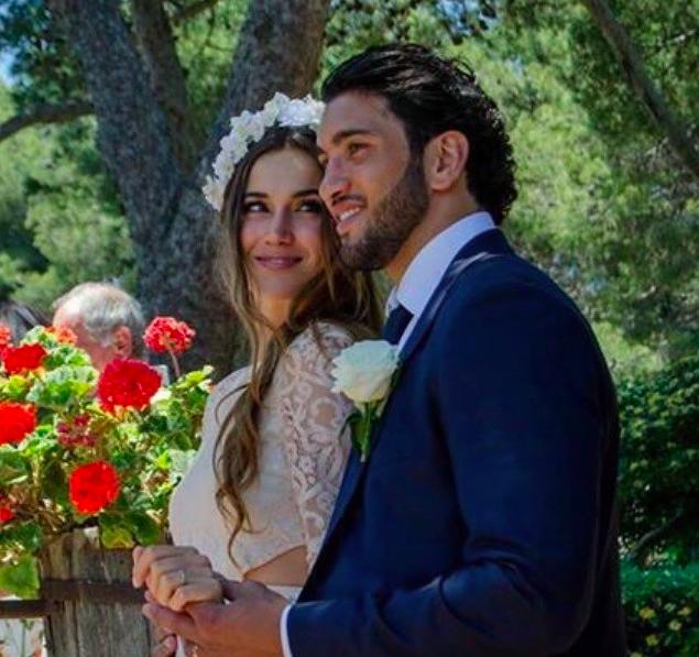 """Barbara Morel et Maxime Mermoz : la miss et le rugbyman se sont dit """"Oui"""" !"""