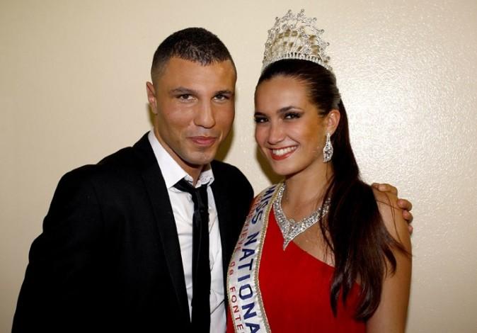 Avec le boxeur Bilel Latreche