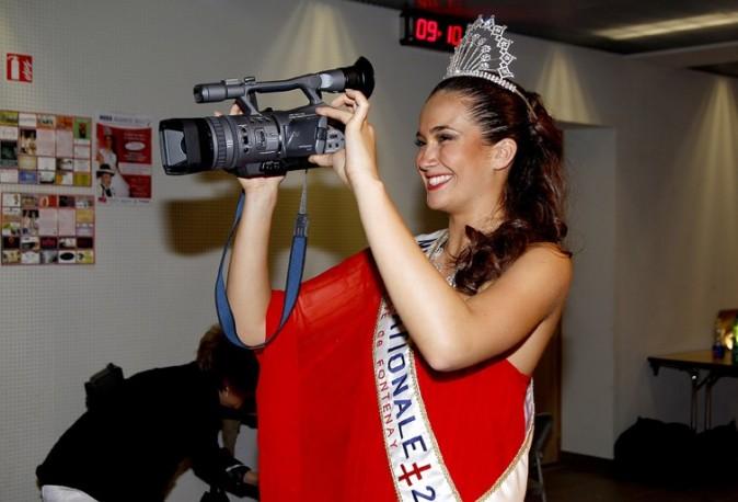 Barbara Morel dans les coulisses de l'élection de Miss Alsace !