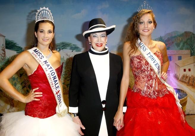 Barbara Morel et Geneviève de Fontenay accueillent la nouvelle Miss Provence !