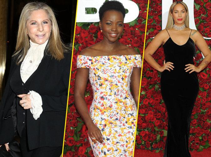 Photos : Barbara Streisand, Lupita Nyong'o, Leona Lewis... pluie de stars aux Tony Awards !