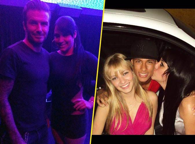 Photos : Beckham, Neymar, Adriano... Une Wag brésilienne veut faire trembler le monde du foot !