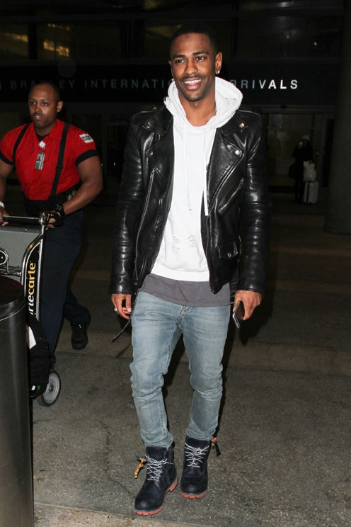 Big Sean à l'aéroport de LAX le 3 décembre 2014