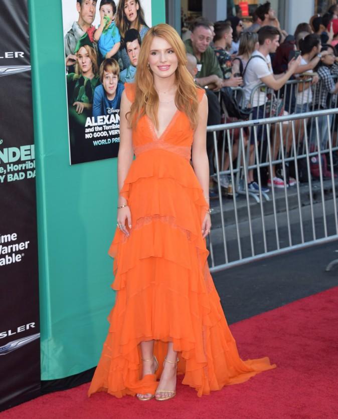 Photos : Bella Thorne et Zendaya : splendides en orange & black à Los Angeles !