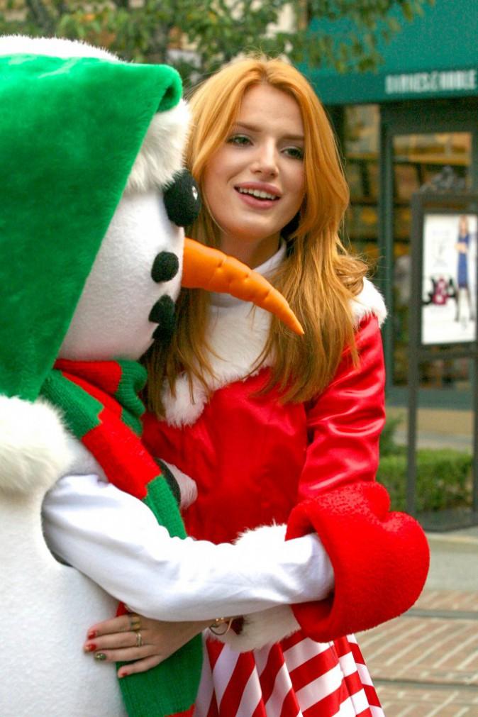 Bella Thorne le 18 décembre 2014