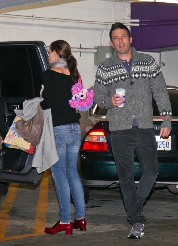 Ben Affleck et Jennifer Garner le 1er décembre 2012 à Westwood
