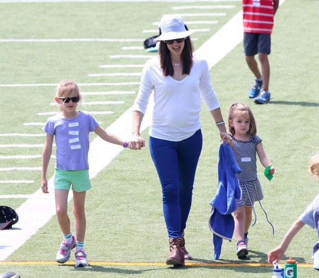 Jennifer Garner et ses filles 28 avril 2013 à Los Angeles