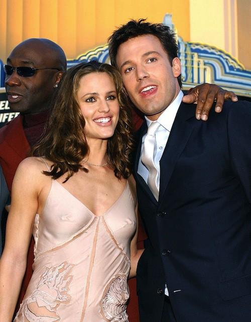 Ben Affleck et Jennifer Garner lors de la première de Dardevil à Hollywood en 2003