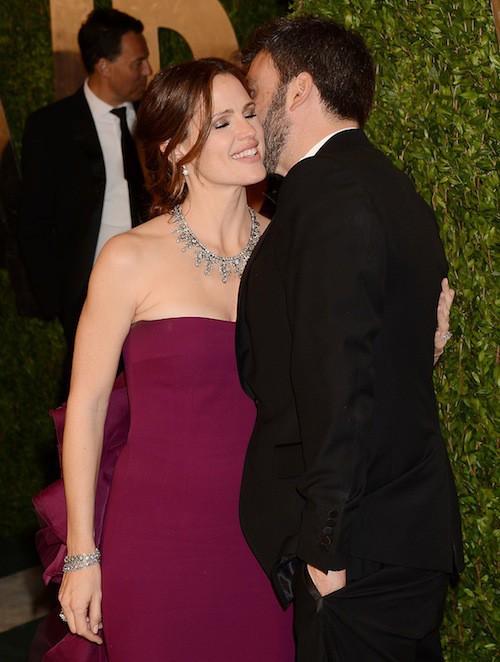 Un couple uni aux Oscars en 2013