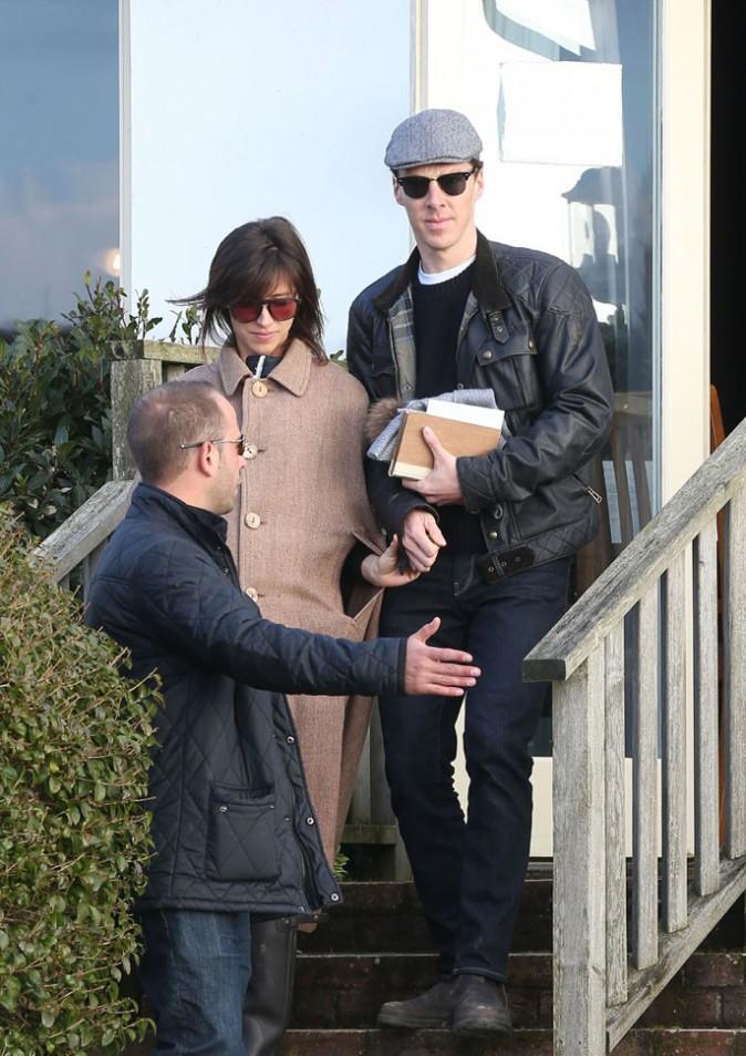Benedict Cumberbatch : première apparition dans son rôle de jeune marié !