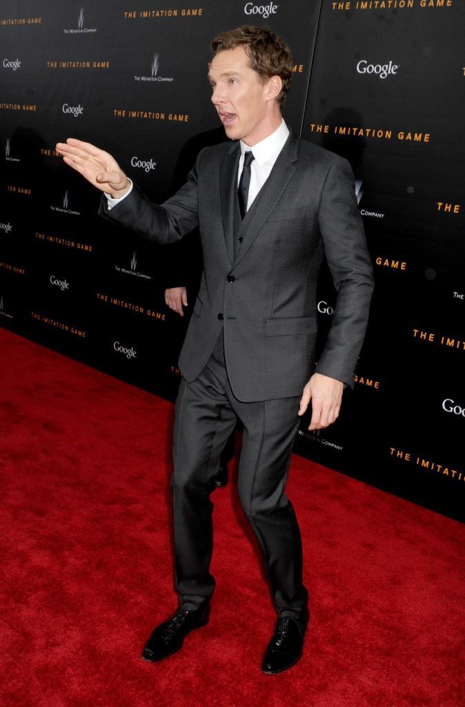 Benedict Cumberbatch le 17 novembre 2014