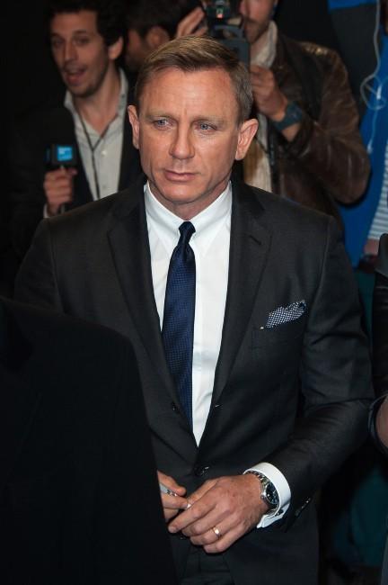 Daniel Craig le 24 octobre 2012 à Paris