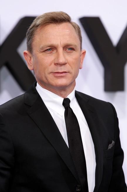 Daniel Craig le 30 octobre 2012 à Berlin