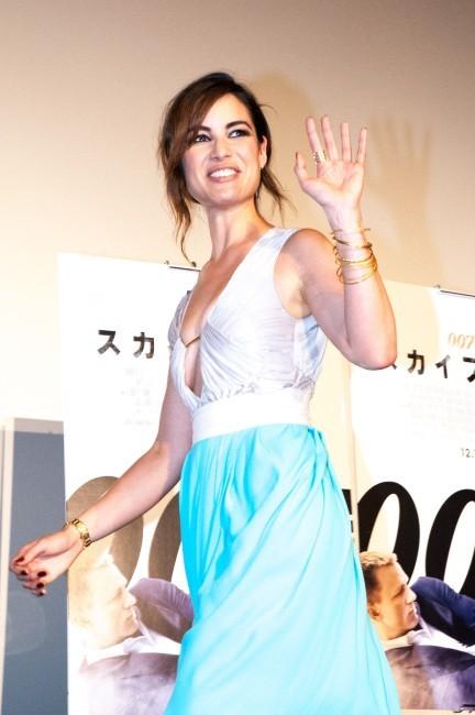 Bérénice Marlohe le 19 novembre 2012 à Tokyo