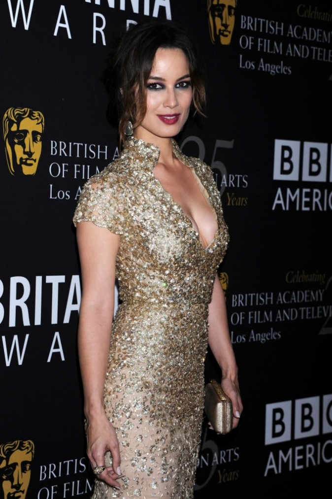 Bérénice Marlohe lors des BAFTA 2012 Britannia Awards à Los Angeles, le 7 novembre 2012.