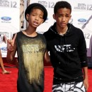 Willow et Jaden Smith lors de la cérémonie des BET Awards à Los Angeles, le 1er juillet 2012.